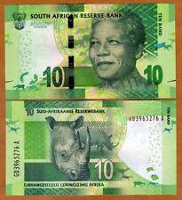 **   AFRIQUE du SUD     10  rand   2015   p-138b    UNC   **