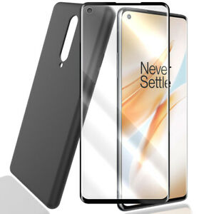 Easy Install Screen Protector Soft TPU Case for T-Mobile/Sprint OnePlus 8 Phones