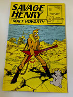 Savage Henry No. 1 January 1987 Vortex Comics 1st Canadian Printing Unread Curl