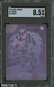 1992 Impel Marvel Hologram Venom SGC 8.5 NM-MT+