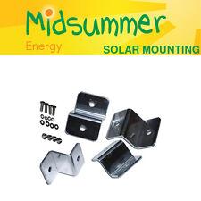 Conjunto De Montaje De Aluminio Z pies pequeños - 4 X 38 mm para los paneles solares 5W/20W/50W
