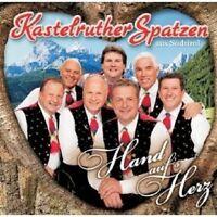 KASTELRUTHER SPATZEN - HAND AUF'S HERZ CD NEU