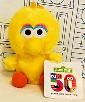 New Sesame Street Big Bird PLUSH 50th Anniversary 2019 Toy FACTORY Yellow Doll N