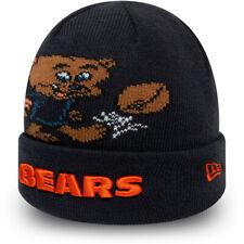 Chicago Ours new era Bébés Mascotte NFL Manchette Bonnet Tricot (0-2 Ans)