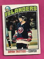 1976-77 OPC # 115 ISLANDERS BRYAN TROTTIER  ROOKIE GOOD CARD (INV# D7383)