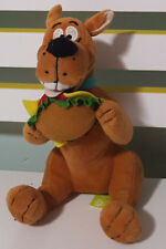 SCOOBY DOO DOG CHARACTER WITH HAMBURGER FOOD PLUSH TOY! SOFT TOY 22CM