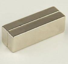 2pcs Large NdFeB Magnet Bar Neodymium 60mm x 20mm x 10mm Magnets N50 Christmas!
