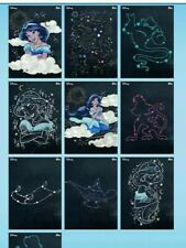 Topps Disney Collect Card Trader Aladdin Written in the Stars Set of 9 + Award