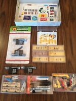 Assorted N Scale Vehicles Figures Etc.