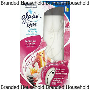 GLADE SENSE SPRAY AIR FRESHENER AUTOMATIC MACHINE REFILL RELAXING ZEN