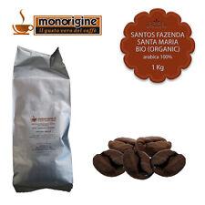 Caffè Arabica Biologico in grani Santos Fazenda Santa Maria BIO (Organic) 1Kg