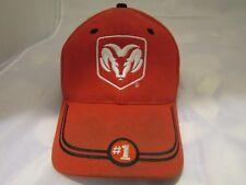 Dodge RAM Daimler Chrysler #1 RED/ WHITE cotton embroidered baseball hat cap