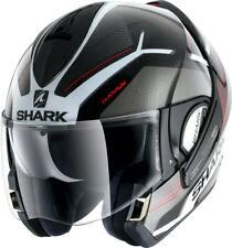 Shark Klapphelm Evoline Serie 3 HATAUM H.V. Gr.M schwarz weiß rot NEU BikerWorld