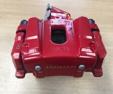 Genuine Jaguar XF, XK, XJ Rear Brake Calliper Housing Red RH C2D39490