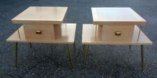 Pr. LANE End Side Accent Table Mid Century Modern 50's 60's Mad Men era Chic
