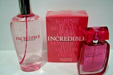 2 P VICTORIA'S SECRET INCREDIBLE EAU DE PARFUM BODY MIST GIFT SET RARE!