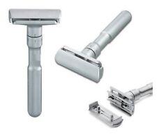 """Merkur:""""Future""""rasoio da barba(satinato)di sicurezza con regolazione uscita lama"""