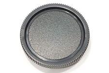 Plain black body cap, fits any Leica M Rangefinder Camera, M3, M4, M6, M8, M New