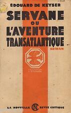 Servane ou l'aventure transatlantique // Edouard De KEYSER // L'Epervier n°21