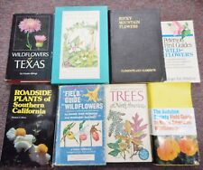 Field Guides to Wildflowers Peterson Rocky Mountains North American 8 books