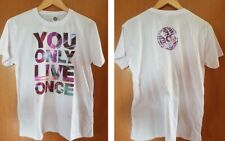 YOLO - You Only Live Once - Shirt - weiss - L