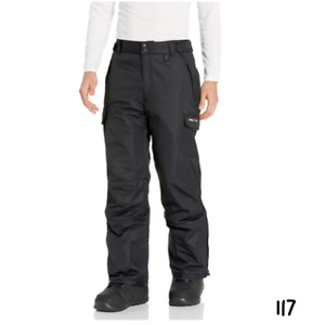 Arctix Men's Snow Sports Cargo Pants, Black, Medium/Regular
