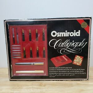 Vintage Osmiroid Deluxe Calligraphy Set - NEW OLD STOCK - 22 Karat Gold Plated