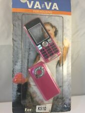Brand New Sealed - Sony Ericsson K510 - Pink - Front Fascia and Back Cover