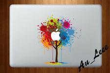 Macbook Air Pro Vinyl Skin Sticker Decal Colour Paint Splash Tree Art 2 CMAC101