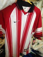 Nike camisetas de Poliéster en Rojo/Blanco Mediano para hombre 38/40 INAT £ 10