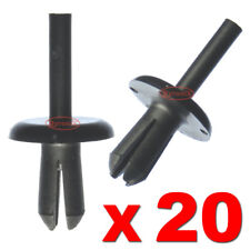 20 DEFENDER 90 110 130 WHEEL ARCH MUD SPAT PUSH RIVET PLASTIC CLIPS LAND ROVER