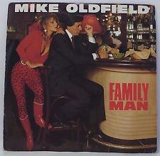 """Mike Oldfield: hombre de familia solo 7"""" Vinilo 45 Rpm Foto Manga en muy buena condición"""