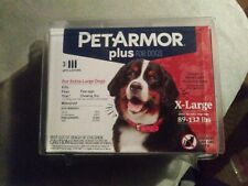 Dog Flea Drops Pet Armor Plus Extra Large Dogs 89 to 132 Pounds