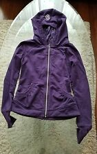 Lululemon womans sweatshirt jacket size 4