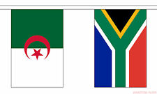 AFRICAN NATIONS 16.5 METRE BUNTING 54 FLAGS FLAG SOUTH AFRICA KENYA