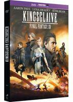 Final Fantasy 15 - Kingsglaive DVD NEUF SOUS BLISTER Film en animation 3D