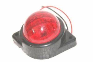 Universal Led Red Lens 12v Taillamp Side Indicator Marker & Parking Light ECs