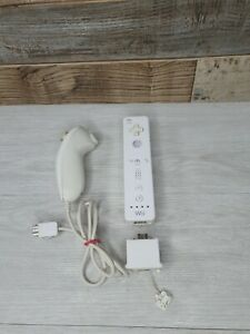 Nintendo Wii Controller Remote With Motion Plus And Nunchuck Official