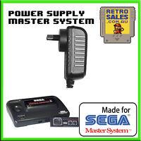 Sega Master System II 2 Power Supply Adapter Pack New Aftermarket AUS Plug 3025