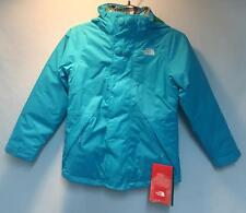 The North Face Girls Maraboo Triclimate Snow Ski Jacket Turquoise Blue XL NEW