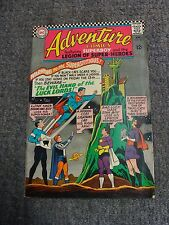 """Adventure Comics #343 (1966) """"The Evil Hand of the Luck Lords!"""" * Dc Comics *"""