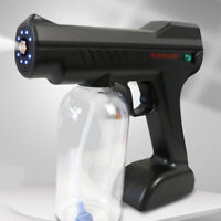Handheld Nano Sanitizer Sprayer Disinfectant Fogger Machine Black