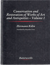 CONSERVATION AND RESTORATION OF WORKS OF ART AND ANTIQUITIES