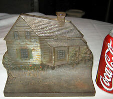 Antique Bradley & Hubbard Cast Iron Home Garden Patio Door Cabin Poet Doorstop