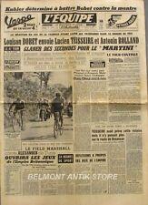 Journal l'Equipe n°2585 - 1954 - Tour de France  - Bobet - Teisseire - Rolland -