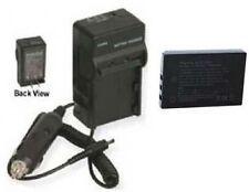 Battery + Charger for Sanyo VPC-HD2000EX VPC-WH1 DMXFH11 DMX-HD1000 DMX-HD1010