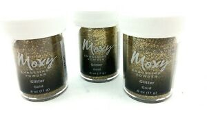 AMC Moxy Embossing Powder .6oz Glitter Gold.   10a0