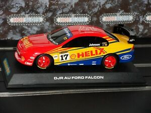 Used 1:32 Scalextric C2520 Ford AU Falcon Shell Johnson #17 Slot Car + Case. EXC