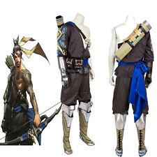 Hot Original Hanzo Cosplay Costume Game Costume Holloween Full Suit Any Size