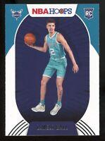 2020-21 Panini NBA Hoops LAMELO BALL Rookie Card RC #223 Charlotte Hornets E6